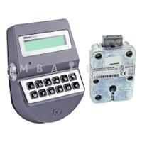 MiniTech Dead Bolt Lock & Keypad, Dallas Key Reader, Knob & Spindle, Chrome