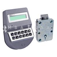 MiniTech Spring Bolt Lock & Keypad, Dallas Key Reader, Chrome