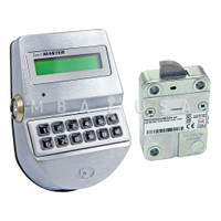 TechMaster Roto Bolt Lock & Keypad, Dallas Key Reader, Chrome