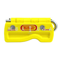 FatIvan Fold-Up Door Stop w/ Magnets - Yellow