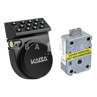 Auditcon 252 Vertical Keypad & Tapped Dead Bolt Lock Package