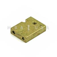 Lock Bolt for S&G 6600, 6700, 8400, 8500 Series Locks, Tapped 10-32, Retracts Flush (Mosler)