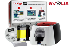 Impresora de tarjetas EVOLIS BADGY 200 PACK - B22U0000RS