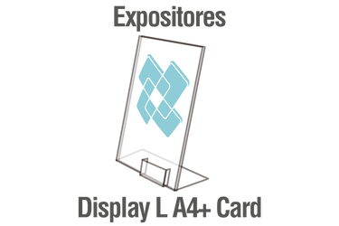 Expositores de sobremesa Display L A4+ Card - inditar.com