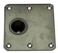 "Spring-Lock 7"" X 7""  Non-Locking Offset Floor Base M/S"