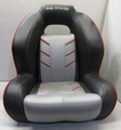 Nitro Seat Charcoal / Gray / Red