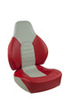 Fish Pro Fold Down Seat Red & Gray