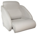 Thigh Rise Flip Up Seat  off White