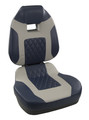 Fishpro II Fold Down Seat High Back Navy/Gray