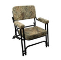 Deck Chair with Mossy Oak Duck Blind Cushions