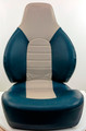 Fish Pro Fold Down Seat Blue & Gray