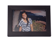 Black Slim Line Tabletop Picture Frame
