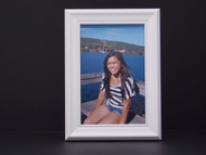 Tribeca White Tabletop Frame