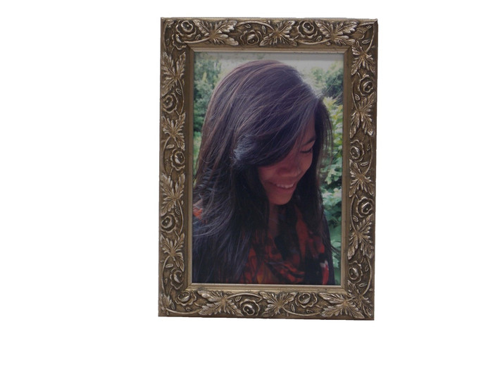Allegra Antique Silver Leaf Tabletop Frame Picture This