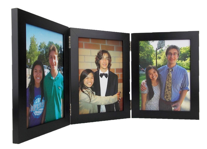 Three Photo Hinged Frame
