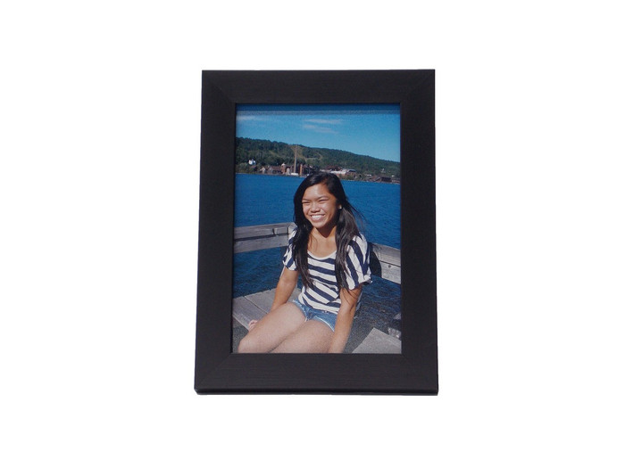 5x7 Black Wood Tabletop Picture Frame