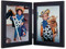 Double Hinge Vertical (Portrait) Picture Frame - Black Finish