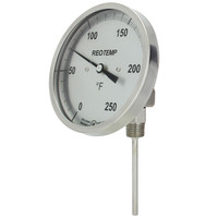 Adjustable Angle Brewing Thermometer (Threaded & Sanitary)