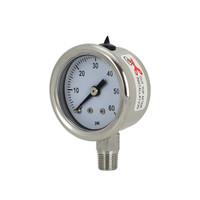 """1.5"""" Stainless Steel Brewing Pressure Gauge"""