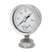 "3"" Dial Sanitary Pressure Gauge for Brewing"