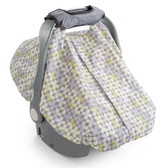 Summer Infant 2-in-1 Carry and Cover Infant Car Seat Cover, Clover
