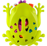 Boon Frog Pod Bath Toy Scoop, Drain And Storage
