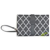 JJ Cole Diaper Changing Clutch, Stone Arbor