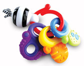 Nuby Funkeys Teething Ring