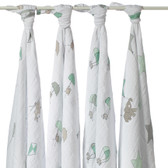 Aden + Anais Up, Up & Away Classic Swaddles 4-Pack