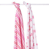 Aden + Anais Princess Posie Classic Swaddles 2-Pack