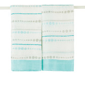 Aden + Anais Azure - Bead Bamboo Issie Security Blankets 2-Pack