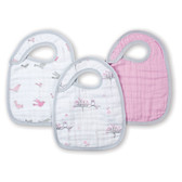 Aden + Anais For The Birds Classic Snap Bibs 3-Pack