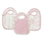Aden + Anais Tranquility Bamboo Snap Bibs 3-Pack