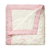 Aden + Anais Tranquility - Leafy + White Bamboo Dream Blankets