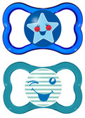 MAM Air Silicone Pacifiers 6+ m, 2 pk, Boy