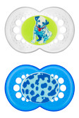 MAM Animal Orthodontic Silicone Pacifiers 6+ m, 2 pk, Dog