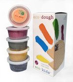 eco-kids Natural Plant Dye Modeling Dough (Contains Gluten)