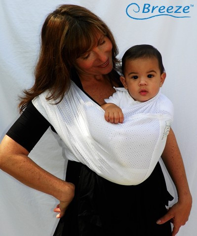 706bed5c3e7 Baby K Tan Breeze Baby Carrier White - Parents  Favorite