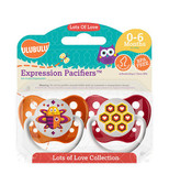 Ulubulu Bee & Honeycomb Pacifiers 0-6M (Unisex)