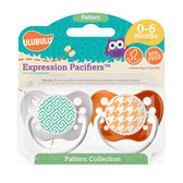 Ulubulu Greek Key & Houndstooth Pacifiers 0-6M (Unisex)