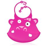 Ulubulu Hippo Silicone Bib