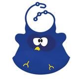 Ulubulu Hoot Owl Silicone Bib