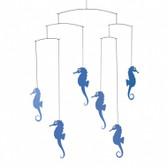 Flensted Mobiles Sea Horse Blue