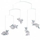 Flensted Mobiles Circular Bunnies