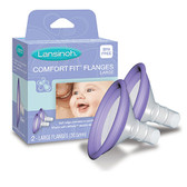 Lansinoh Large Comfort Fit Flanges 2 Count