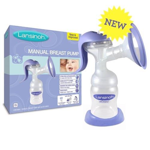 Lansinoh Manual Breast Pump Parents Favorite