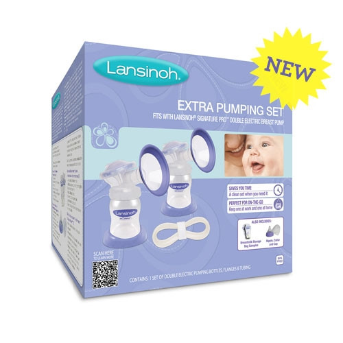 Lansinoh Signature Pro Extra Pumping Set Parents Favorite