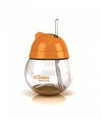 Lansinoh mOmma Straw Cup No Handle 9 oz Orange