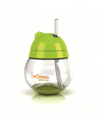 Lansinoh mOmma Straw Cup No Handle 9 oz Green