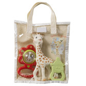 Vulli Sophie Giraffe Cotton Gift Bag